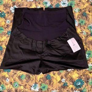 NWT Duo Black Maternity dress slacks